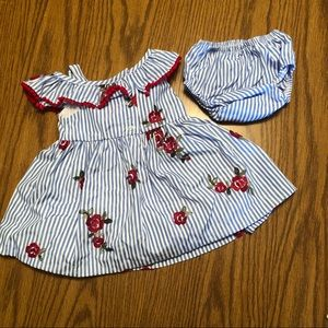 Rare Editions Dresses - Baby Girl Dress and Bloomers